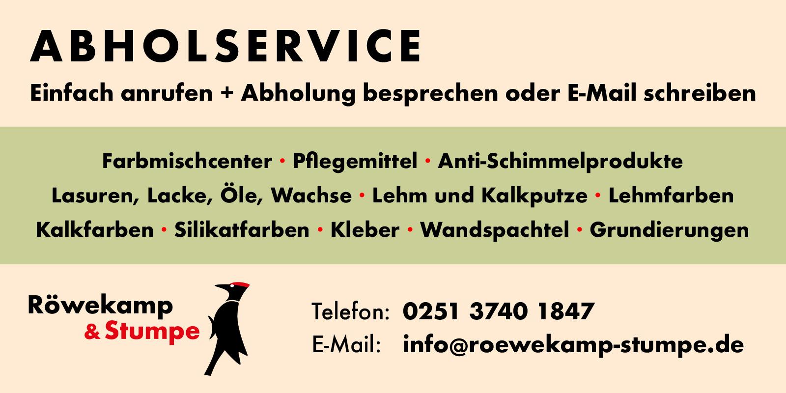 Roewekamp & Stumpe Abholservice