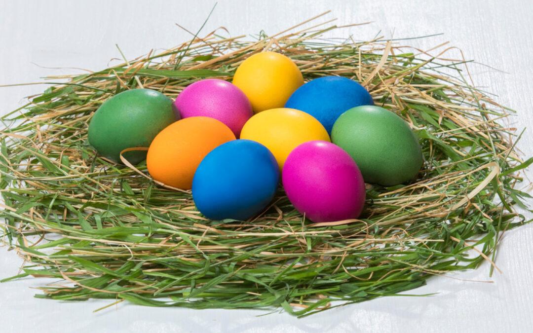 Ostereierfarben von AURO  – natürliche Pigmente, wunderschöne Farben