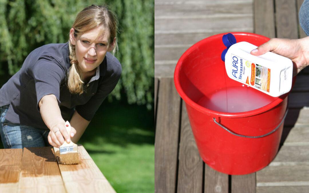 Gartenhaus, Schaukel, Sandkasten & Co. – Holz mit nachhaltigen Lasuren wetterfest machen